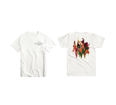 FLAN x Cafe Colette 'Salmon Bowl' T-Shirt