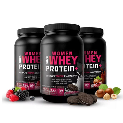 100% WOMEN WHEY - Welbox.cl