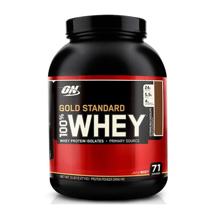 100% WHEY GOLD STANDARD 5 LBS - OPTIMUM NUTRITION
