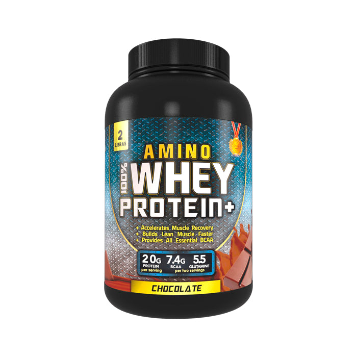 100% AMINO WHEY PROTEIN - COOKIES AND CREAM