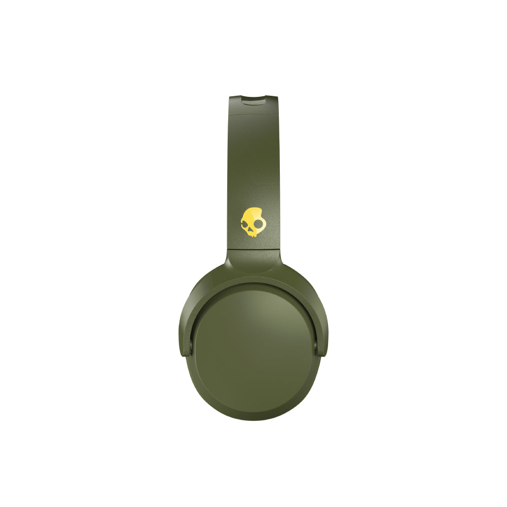 Audífonos Skullcandy RIFF WIRELESS ON-EAR MOSS/OLIVE/YELLOW