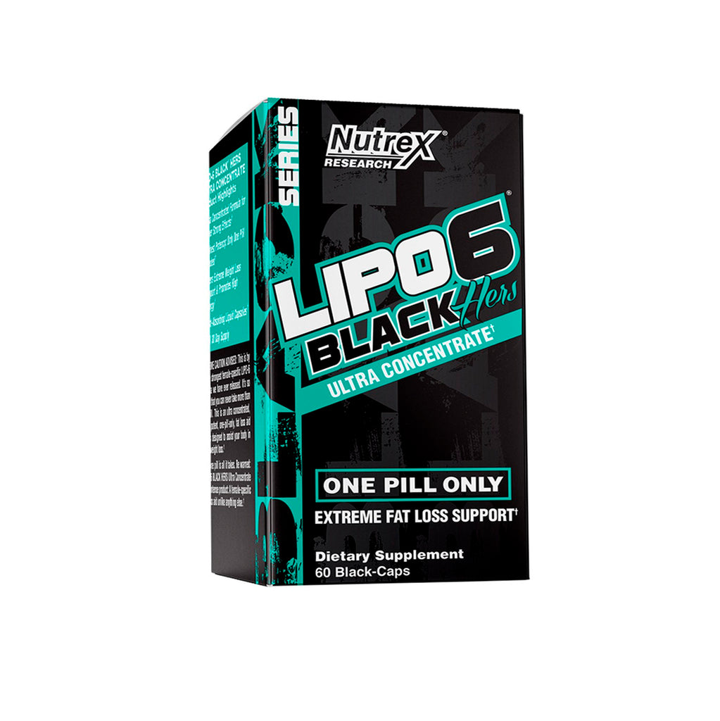 LIPO 6 BLACK HERS UC (CON RES) - 60 CAPS - NUTREX