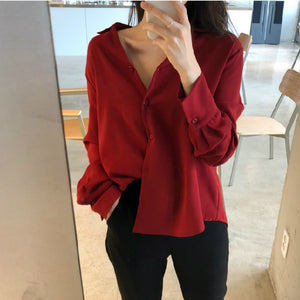 Office Shirt With Long Sleeve For Women