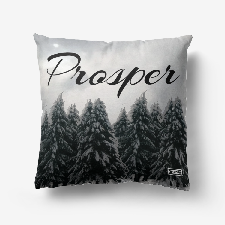 Prosper Premium Hypoallergenic Throw Pillow