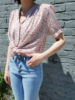 FLORAL BLOUSE 1065 - Sylvie and Shimmy
