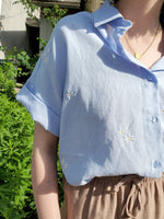 EMBROIDERED BLOUSE 1073