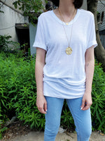 LINEN BLEND TSHIRT 1555 - Sylvie and Shimmy