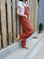 LINEN OVERALLS 1808 - Sylvie and Shimmy