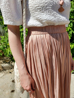 SHIMMER PLEATED SKIRT 1020 - Sylvie and Shimmy