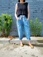 LIGHTWEIGHT BAGGY JEANS 1717 - Sylvie and Shimmy