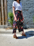 FLORAL WIDE LEG PANTS 1042 - Sylvie and Shimmy