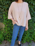 OVERSIZED BOXY BLOUSE 3004