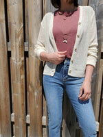 LIGHTWEIGHT BUTTON CARDIGAN 3500 - Sylvie and Shimmy