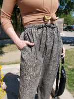 LEOPARD PRINT WIDE LEG PANTS 3002 - Sylvie and Shimmy