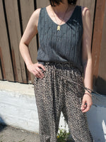 CABLE KNIT TANK/VEST 3301 - Sylvie and Shimmy