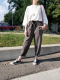 TAPERED BAGGY PANTS 3005 - Sylvie and Shimmy