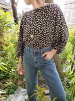 LEOPARD PRINT BLOUSE 3018 - Sylvie and Shimmy