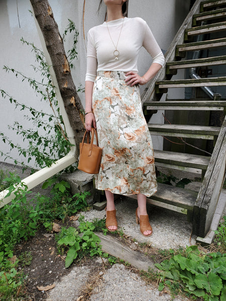 FLORAL MIDI SKIRT 3002 - Sylvie and Shimmy