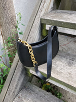 FAUX LEATHER CHAIN STRAP BAG 3004 - Sylvie and Shimmy