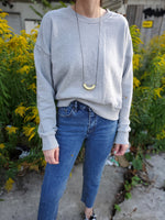 CROPPED SWEATSHIRT 3517 - Sylvie and Shimmy