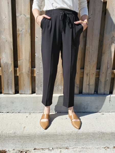 DRAWSTRING REGULAR FIT PANTS 3006 - Sylvie and Shimmy