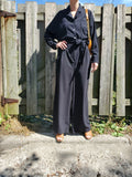 OVERSIZED BELTED JUMPSUIT 3804 - Sylvie and Shimmy