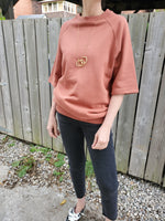 SHORT SLEEVE SWEATSHIRT 3520 - Sylvie and Shimmy