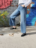 HIGH WAISTED WIDE LEG JEANS 3712
