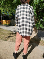 PLAID BOYFRIEND SHIRT 3033 - Sylvie and Shimmy