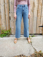 HIGH WAISTED WIDE LEG JEANS 3711