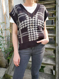 PLAID SWEATER VEST 3303 - Sylvie and Shimmy