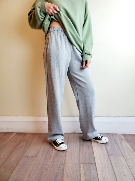 WIDE LEG SWEATPANTS 3013 - Sylvie and Shimmy