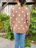POLKA DOT CARDIGAN 3522 - Sylvie and Shimmy