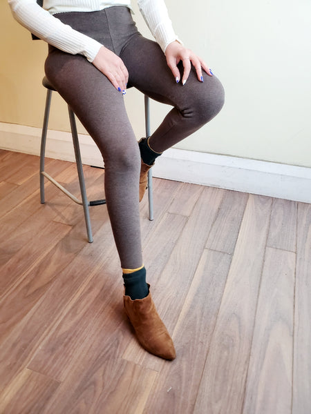 SOFT BRUSHED LEGGINGS 3900 - Sylvie and Shimmy