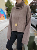 CHUNKY TURTLENECK SWEATER 3018 - Sylvie and Shimmy