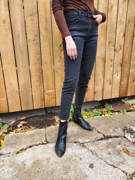 HIGH RISE SLIM FIT JEANS 3715 - Sylvie and Shimmy