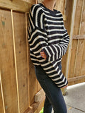 STRIPED SWEATER 3021 - Sylvie and Shimmy