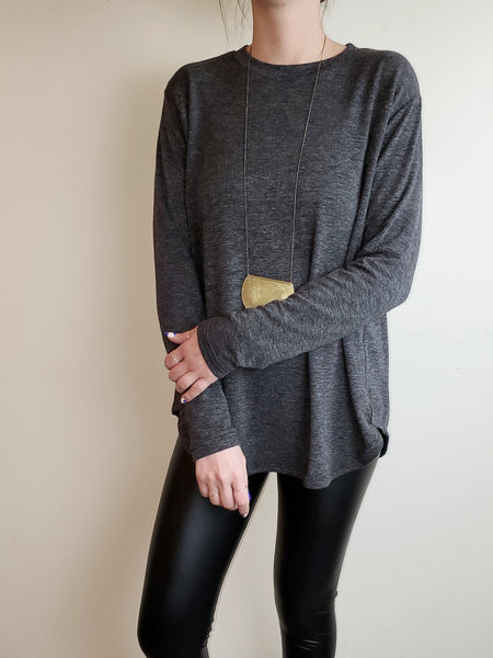 LONG SLEEVE THERMAL T SHIRT 3550 - Sylvie and Shimmy