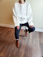 FLEECE BOXY SWEATSHIRT 3552 - Sylvie and Shimmy