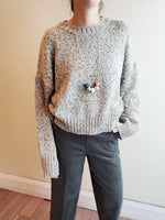 SPECKLED SWEATER 3035 - Sylvie and Shimmy