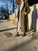 RELAXED WOOL BLEND COAT 3010 - Sylvie and Shimmy