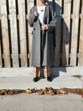 COLLARLESS HERRINGBONE COAT 3008 - Sylvie and Shimmy