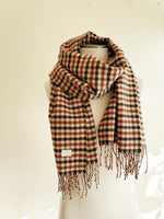 PLAID TASSEL SCARF 3003 - Sylvie and Shimmy
