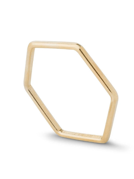 HEX STACKING RING KY602 - Sylvie and Shimmy