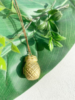 PINEAPPLE LOCKET NECKLACE TB338 - Sylvie and Shimmy
