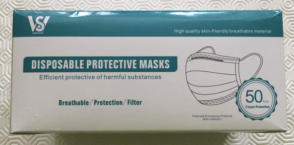 Standard Mask - 50 Pack - IN STOCK IN UK NOW