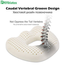 Load image into Gallery viewer, Coccyx Seat Cushion Made Of Natural Latex Foam - Sciatica Back Tailbone Pain Relief - Inspired Gadgetz