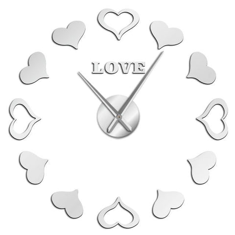Horloge Stickers Love | Horloge Mania