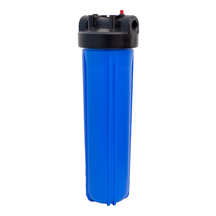 "BetterAqua Big Blue Filter Housing 20"" x 4.5"" Whole House Water System 1"" Port, BA-BB-2045"