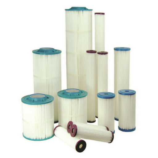 Harmsco HB-20-5W Polyester-Plus Calypso Blue Series Filter Cartridge
